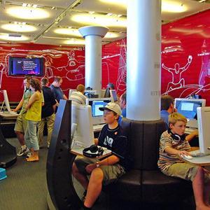 Интернет-кафе Верхнего Услона